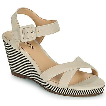 Schoenen Dames Sandalen / Open schoenen JB Martin QUERIDA Zand