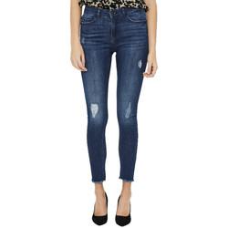 Textiel Dames Skinny Jeans Noisy May  Blauw