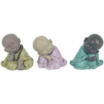 Wonen Beeldjes Signes Grimalt Boeddha 3 Verschillende Slapen Multicolor