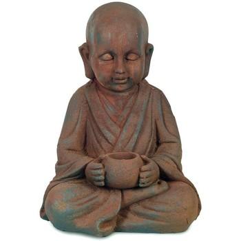 Wonen Beeldjes Signes Grimalt Boeddha Met Bron Marrón