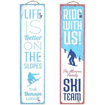 Wonen Schilderijen Signes Grimalt Wall Plate Ski September 2 U Azul