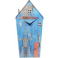 Wonen Klokken Signes Grimalt Sloophout Clock House Azul