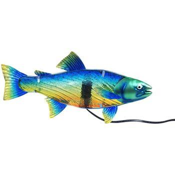 Wonen Tafellampen Signes Grimalt Tafelblad Lamp Fish Azul