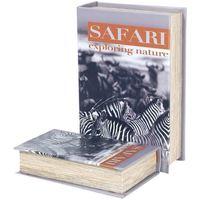 Wonen Trunks, opbergdozen Signes Grimalt Zebra Safari 2U Dozen Book Multicolor