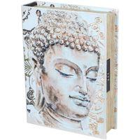 Wonen Trunks, opbergdozen Signes Grimalt Veiligheid Boek-Boeddha Box Beige