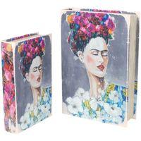 Wonen Trunks, opbergdozen Signes Grimalt Frida Boekenboxen Set 2U Multicolor