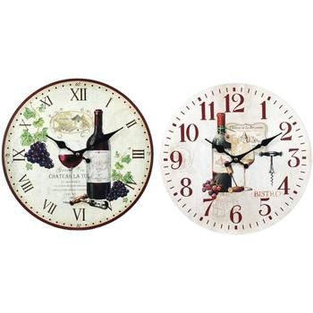 Wonen Klokken Signes Grimalt Wijn Horloge 2 Verschillende 2U Multicolor