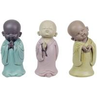 Wonen Beeldjes Signes Grimalt Boeddha'S 3 Verschillende Set 3U Multicolor