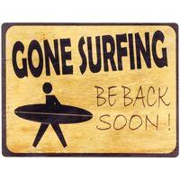 Wonen Schilderijen Signes Grimalt Gone Surfin Wandbord Amarillo