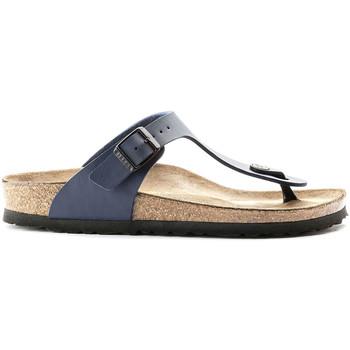 Schoenen Heren Slippers Birkenstock 143621 Blauw