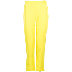 Textiel Dames Broeken / Pantalons Pinko  Geel