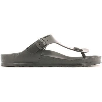 Schoenen Heren Slippers Birkenstock 128201 Zwart