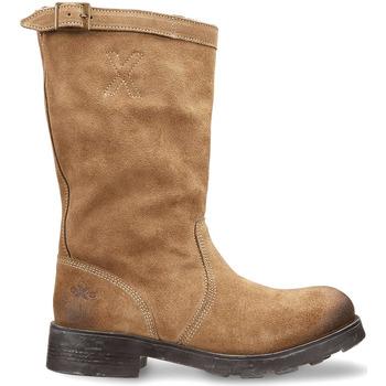 Schoenen Dames Laarzen OXS OXW100503 Beige