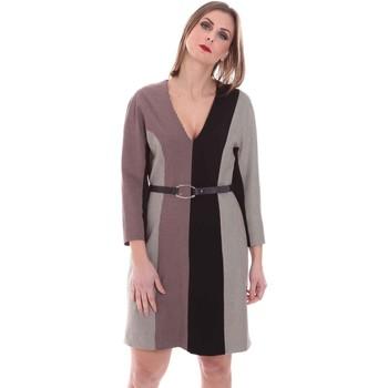 Textiel Dames Korte jurken Nenette 26BB-ARAS Grijs