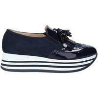 Schoenen Dames Instappers Grace Shoes MAR016 Blauw