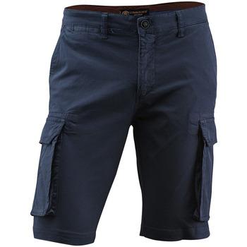 Textiel Heren Korte broeken / Bermuda's Lumberjack CM80747 005 602 Blauw