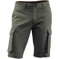 Textiel Heren Broeken / Pantalons Lumberjack CM80747 005 602 Groen