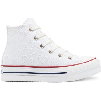 Schoenen Kinderen Hoge sneakers Converse 671104C Wit