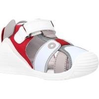 Schoenen Jongens Sandalen / Open schoenen Biomecanics 212144 Rood