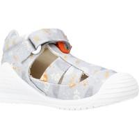 Schoenen Jongens Sandalen / Open schoenen Biomecanics 212221 Grijs