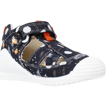 Schoenen Jongens Sandalen / Open schoenen Biomecanics 212221 Blauw