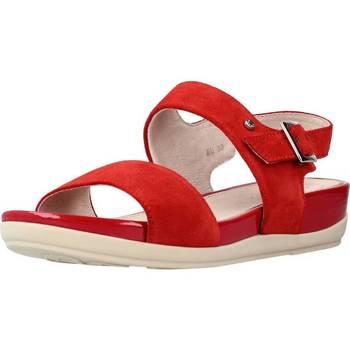 Schoenen Dames Sandalen / Open schoenen Stonefly EVE 9 VELOUR Rood