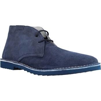 Schoenen Heren Laarzen Stonefly 106260SUPER 1 VELOUR PRINT (1016) Blauw