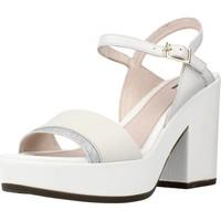 Schoenen Dames Sandalen / Open schoenen Stonefly CAROL 3 CALF GLITTER Wit