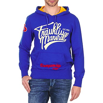Textiel Heren Sweaters / Sweatshirts Franklin & Marshall SUNBURY Blauw