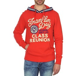 Textiel Heren Sweaters / Sweatshirts Franklin & Marshall GOSFORD Orange