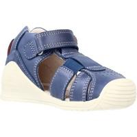 Schoenen Jongens Sandalen / Open schoenen Biomecanics 212134 Blauw