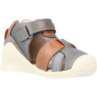 Schoenen Jongens Sandalen / Open schoenen Biomecanics 212135 Grijs