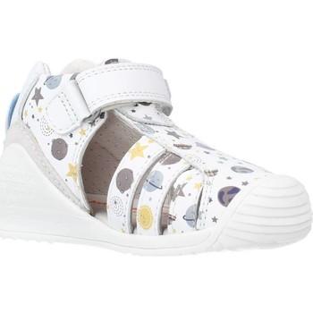 Schoenen Jongens Sandalen / Open schoenen Biomecanics 212142 Wit
