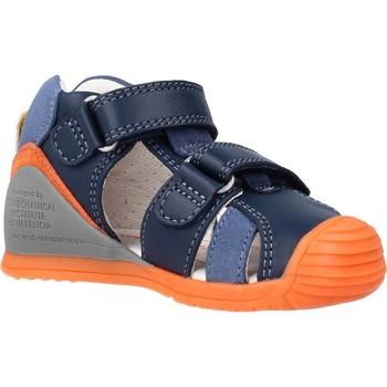 Schoenen Jongens Sandalen / Open schoenen Biomecanics 212143 Blauw