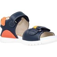 Schoenen Jongens Sandalen / Open schoenen Biomecanics 212190 Blauw