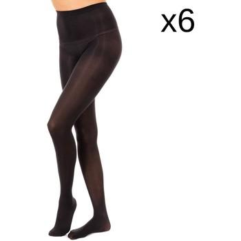 Ondergoed Dames Panty's/Kousen Marie Claire Pack-6 Collants Opac 50 Den Zwart