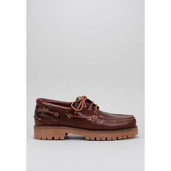 Schoenen Heren Bootschoenen CallagHan  Brown