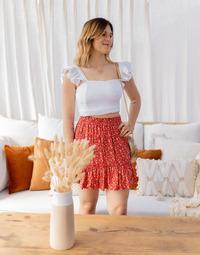Textiel Dames Tops / Blousjes Céleste CAPUCINE Wit