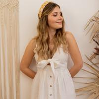 Textiel Dames Lange jurken Céleste CAMOMILLE Wit