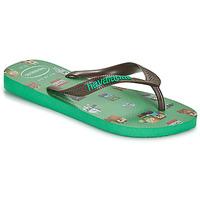 Schoenen Jongens Slippers Havaianas KIDS MINECRAFT Groen