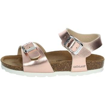 Schoenen Meisjes Sandalen / Open schoenen Grunland SB0646-40 Light dusty pink