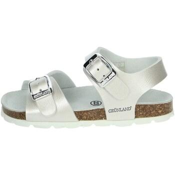 Schoenen Meisjes Sandalen / Open schoenen Grunland SB0392-40 Pearl
