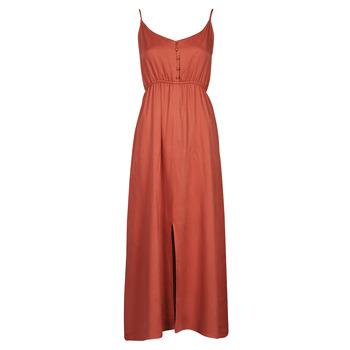 Textiel Dames Lange jurken Betty London ONNANA Terracotta