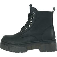 Schoenen Dames Laarzen Wrangler Piccadilly Mid Zwart