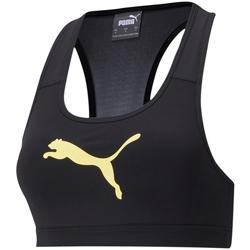 Textiel Dames Sport BHs Puma Mid Impact Zwart