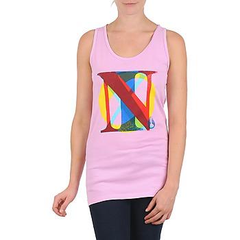 Textiel Dames Mouwloze tops Nixon PACIFIC TANK Roze / Multikleuren