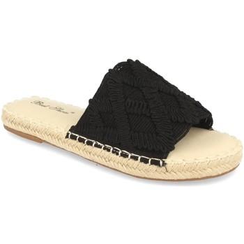 Schoenen Dames Leren slippers Milaya 2S24 Negro