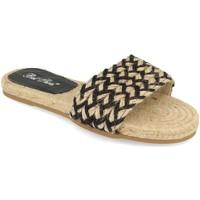 Schoenen Dames Leren slippers Milaya 2S30 Negro