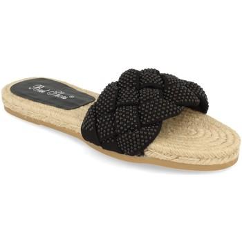 Schoenen Dames Leren slippers Milaya 2S31 Negro