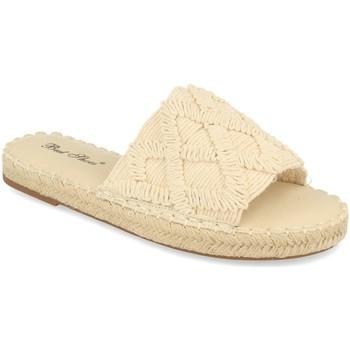 Schoenen Dames Leren slippers Milaya 2S24 Beige